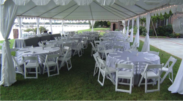 Frame Tent Interior